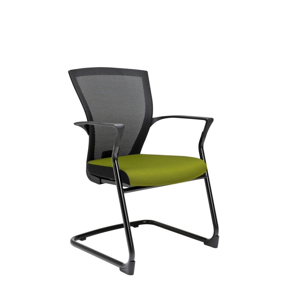 zuomod conference chair zuo modern taupe cressina by glider chairs
