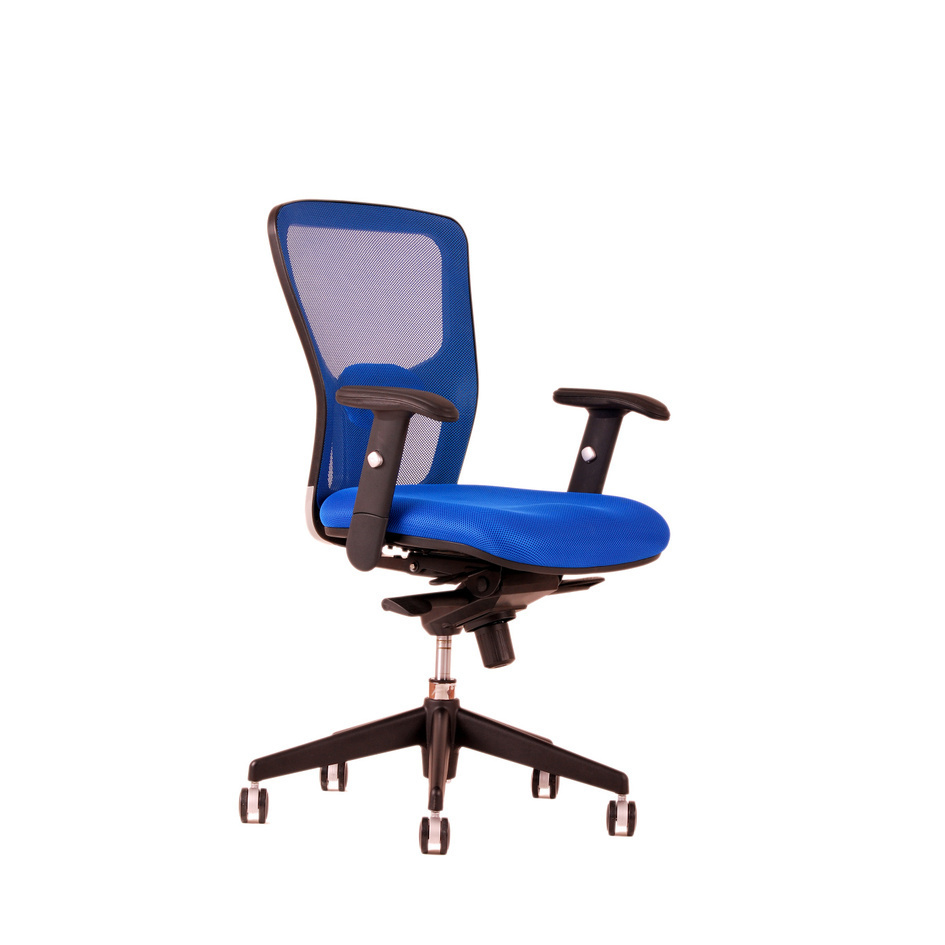 Office chair, DK 90, blue - DIKE BP