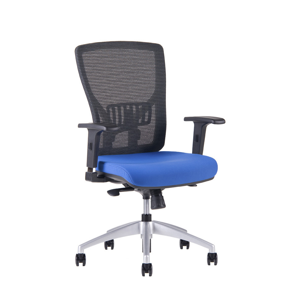 Office chair,  2621, blue - HALIA MESH BP