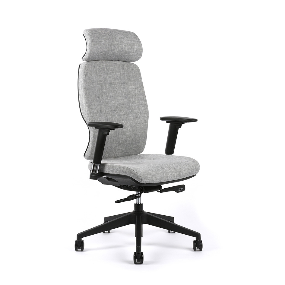 Office chair, F82 grey - SELENE