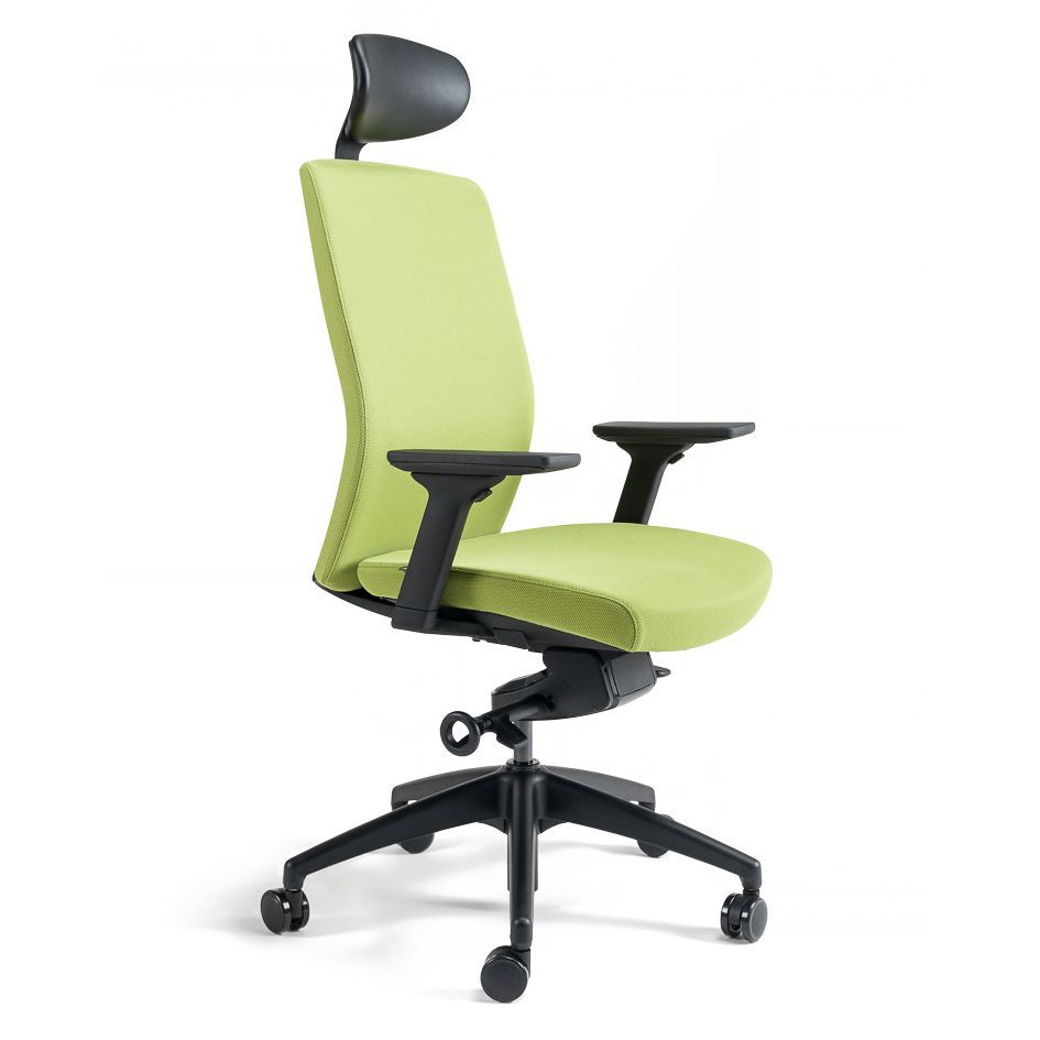 Office chair with headrest - J2 SP